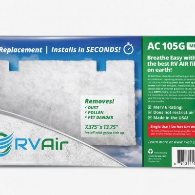 RV Air Filter AC-105G