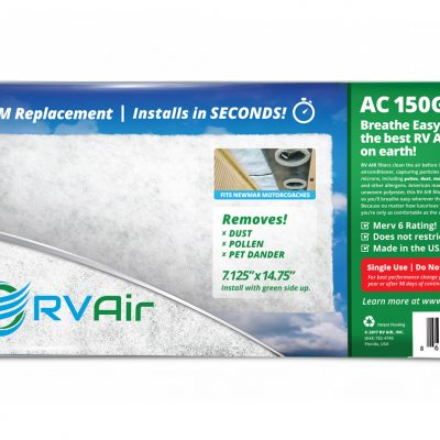 RV Air Filter AC-150G (Fits Newmar Motorhomes)