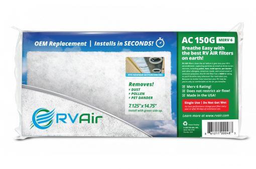150G RV Air Conditioner Filter Product Image