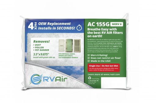 155G RV Air Filter Product Image