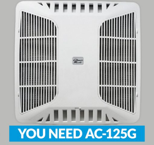 RV Air Conditioner Grill for RVAir AC Filter 125G