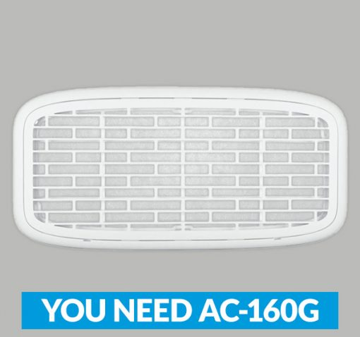 RVAir_AC_Filter_160G Product Image